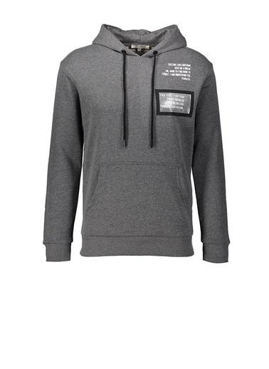 Five Pocket Five Pocket Erkek Kapüşonlu Sweatshirt 4108 20KF1EK04108014 Antrasit